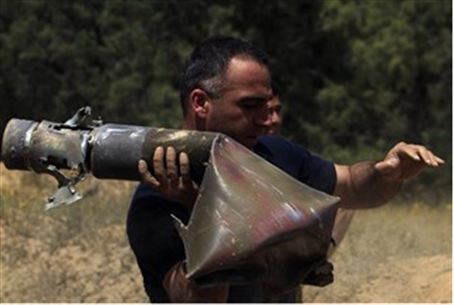 Qassam rocket (archive)