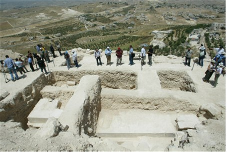 Herodium excavation.