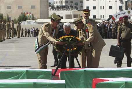 Abbas honors dead terrorists
