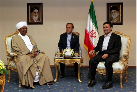 Iranian President Mahmoud Ahmadinejad and Sud