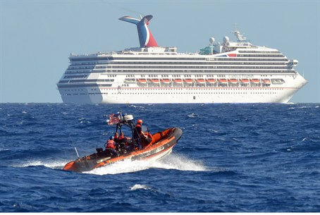 A fire on a Carnival cruise ship has left 4,2