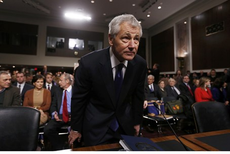 Hagel's confirmation has been met with fierce