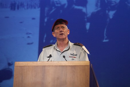 Gantz at Yom Hashoah ceremony