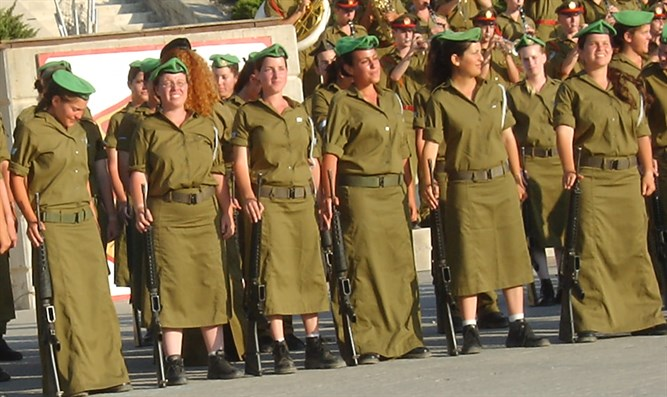 Religious female soldiers
