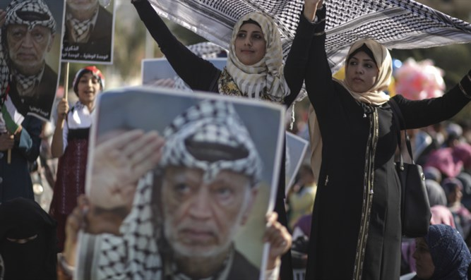 Gaza residents memorialize Arafat