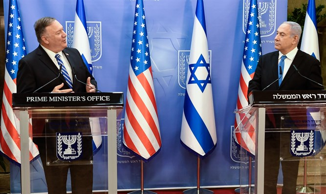 Trump's core righteousness shines through Pompeo's anti-BDS and pro-Jews in Yesha speech