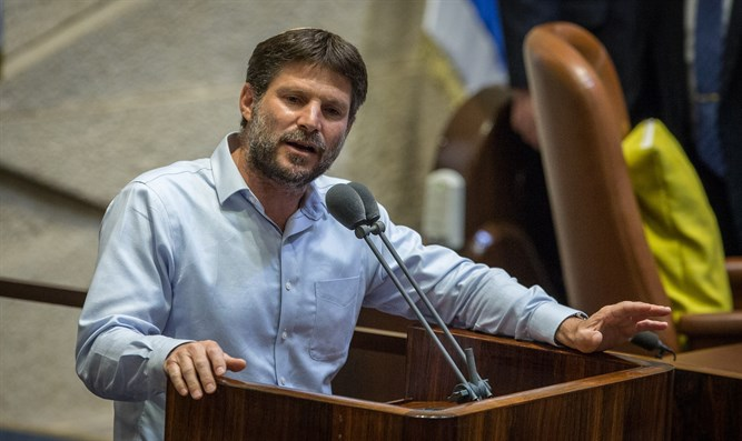 Smotrich submits formal request to set up new party