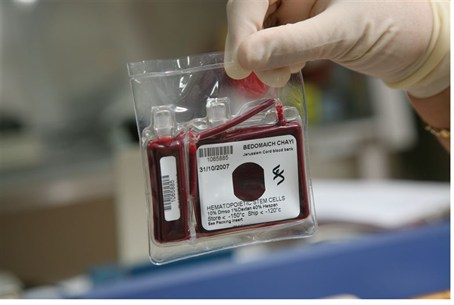 Unit of umbilical cord blood from Bedomaich C