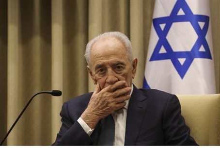 Who will replace President Shimon Peres?
