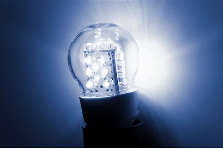 LED light bulb (illustration)