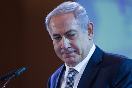 Netanyahu speaks at the Conference of Presidents