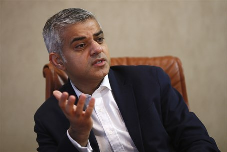 Labour Party candidate for Mayor of London, Sadiq Khan